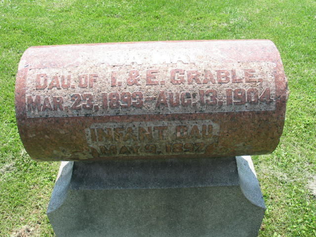 Ada May Grable tombstone