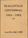 Beallsville Centennial Program
