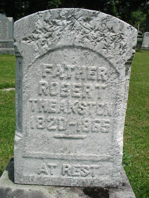 Robert Theakston tombstone