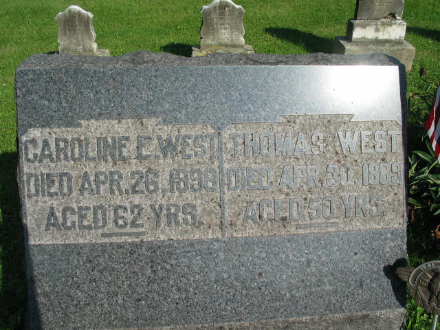 Caroline and Thomas West