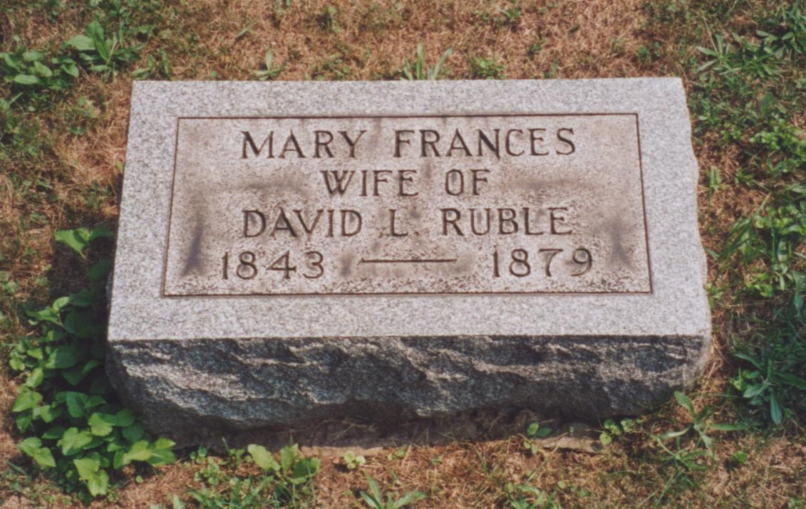 Mary Frances Ruble