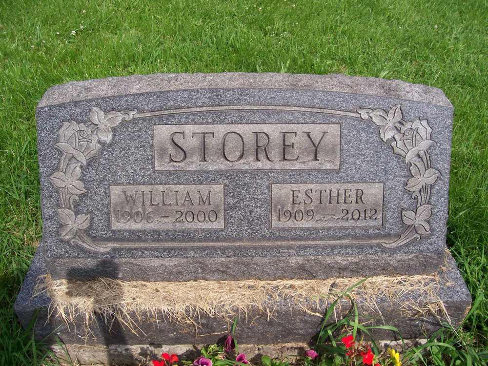 William and Esther Storey