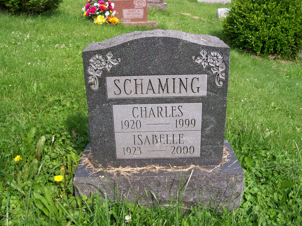 Charles and Isabelle Schaming
