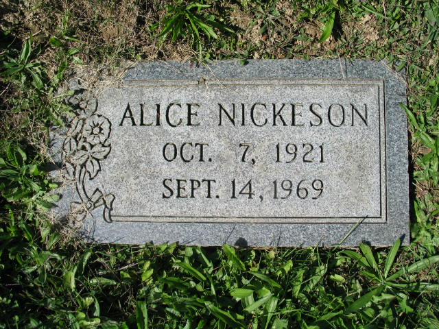 Alice Nickeson