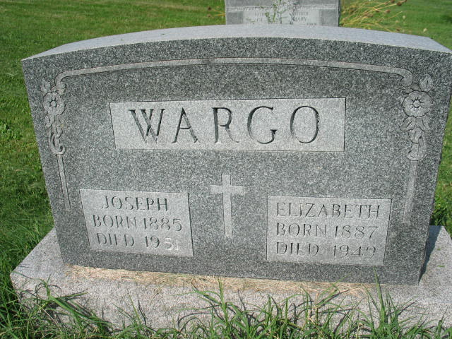 Joseph and Elizabeth Wargo