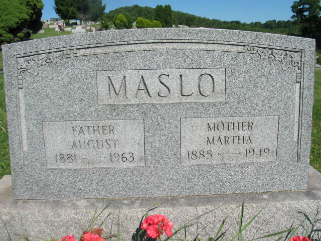 August and Martha Maslo