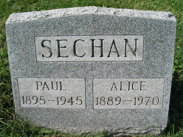 Paul and Alice Sechan