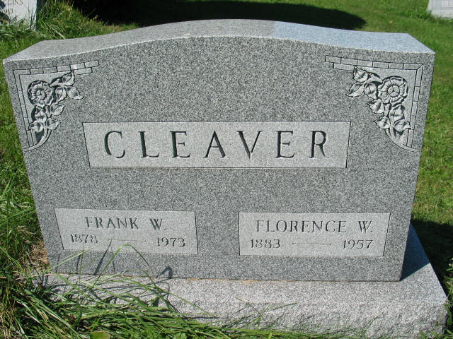 Frank W. and Florence W. Cleaver