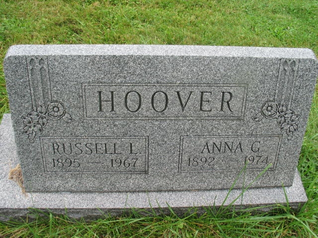 Russell L. and Anna G. Hoover