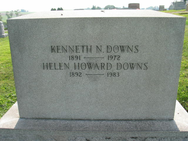 Kanneth and Helen Downs