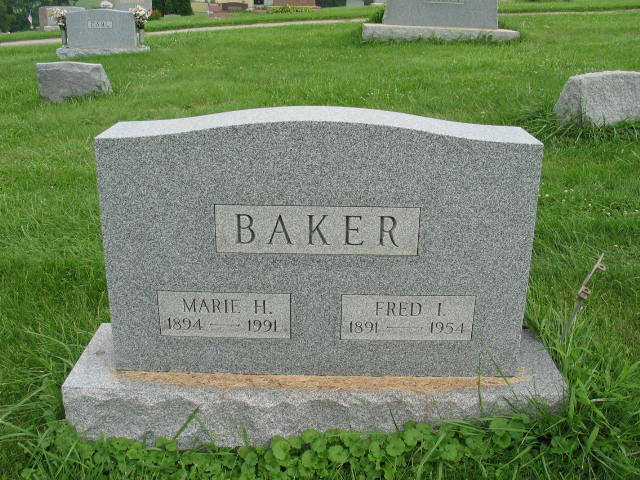 Marie H. and Fred I. Baker