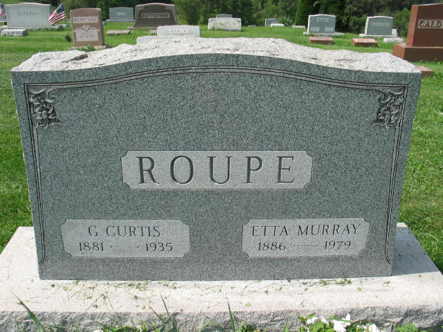G. Curtis and Etta Murray Roupe