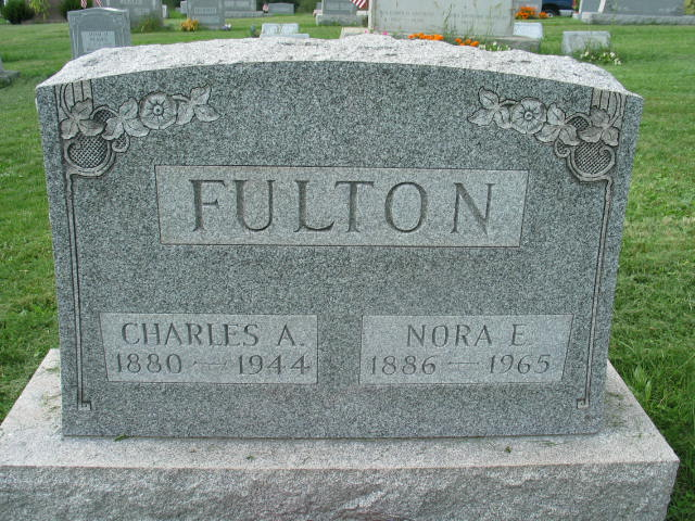 Charles A. and Nora E. fulton