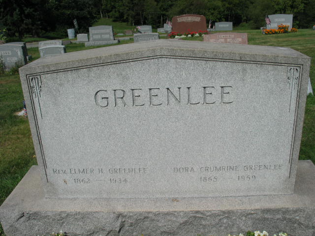 Elmer H. and Dora Crumrine Greenlee