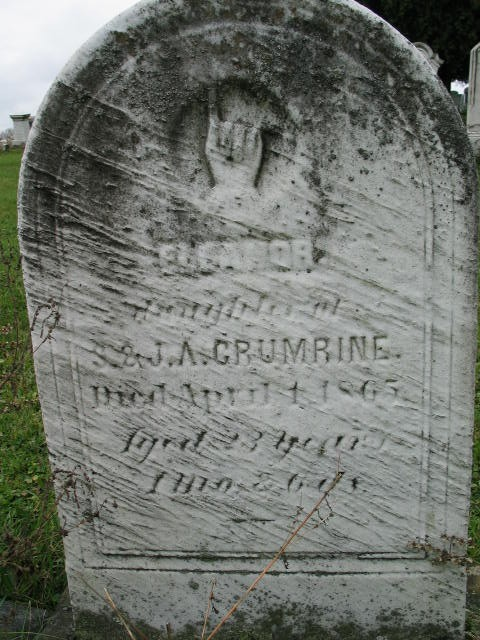 Eleanor Crumrine tombstone