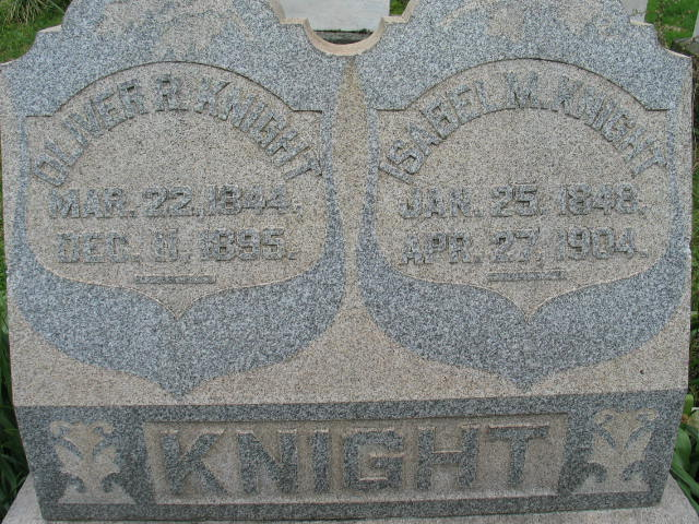 Isabel Knight tombstone
