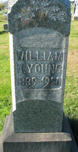 William Young tombstone