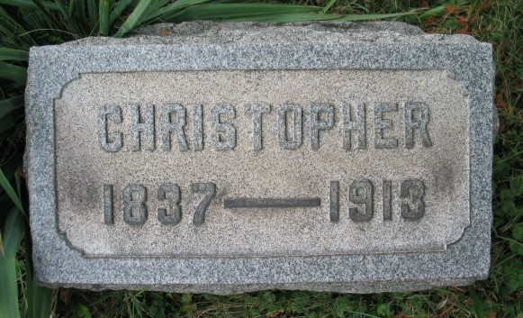 Christopher Keys tombstone