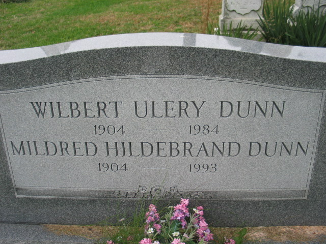 Wilburt Ulery Dunn and Mildred Hildebrand Dunn