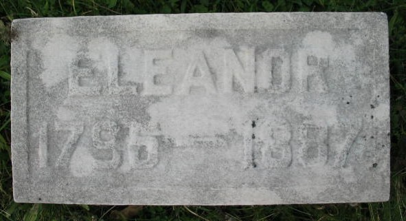 Eleanor Greenfield tombstone