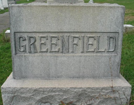 Greenfield family monument