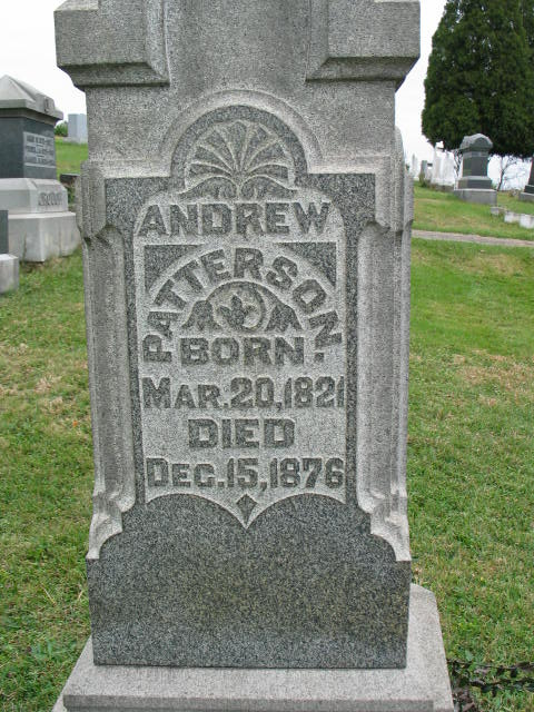 Andrew Patterson tombstone