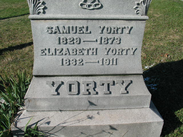 Samuel and Elizabeth Yorty