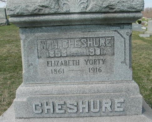W. H. Cheshure and Elizabeth Yorty Cheshure