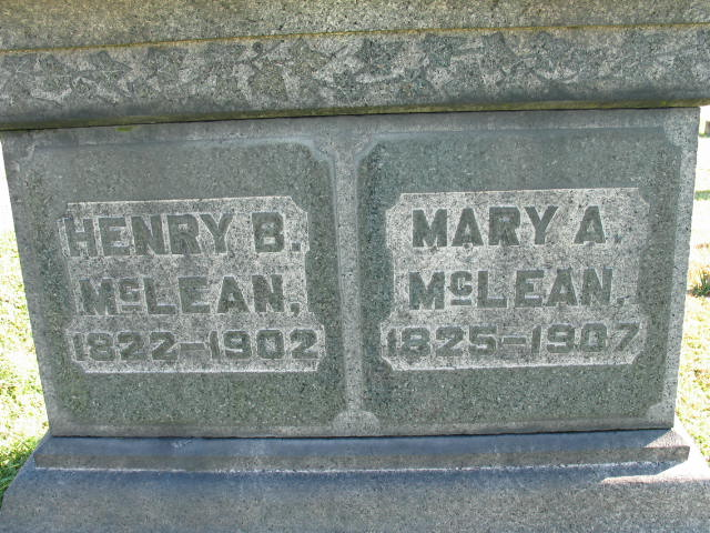 Mary A. and Henry B. McLean