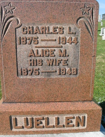 Charles L. and Alice M. Luellen
