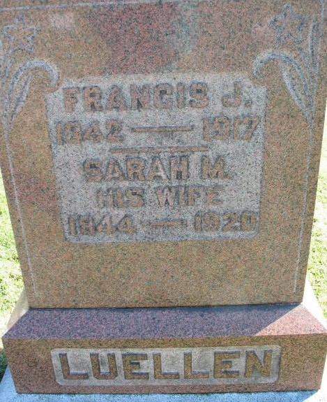 Frances J. and Sarah M. Luellen