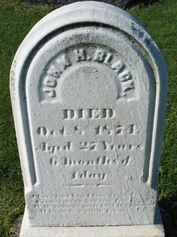 John H. Black tombstone