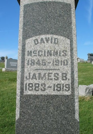 David McGinnis tombstone