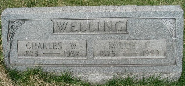 Charles W. Welling tombstone
