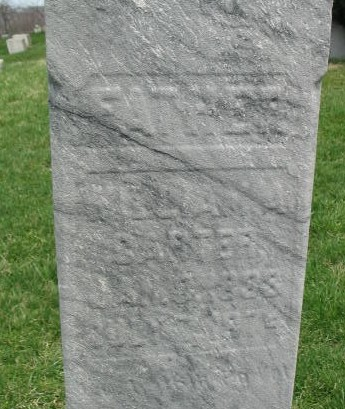 William A. Carter tombstone
