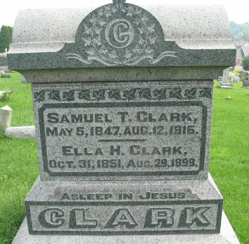 Samuel T. and Ella H. Clark