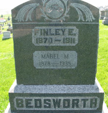 Finley E. and Mabel M. Bedsworth