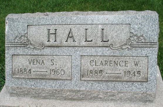 Vena S. and Clarence W. Hall