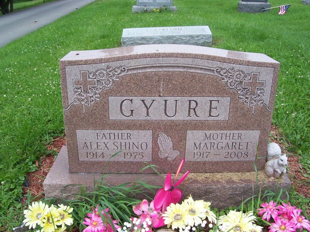 Alex and Margaret Gyure
