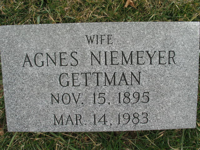 Agnes Niemeyer Gettman