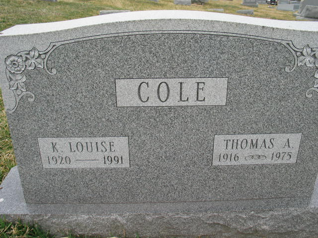 K. Louise and Thomas A. Cole