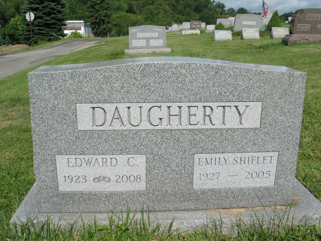 Edward C. and Emily Shiflet Daugherty