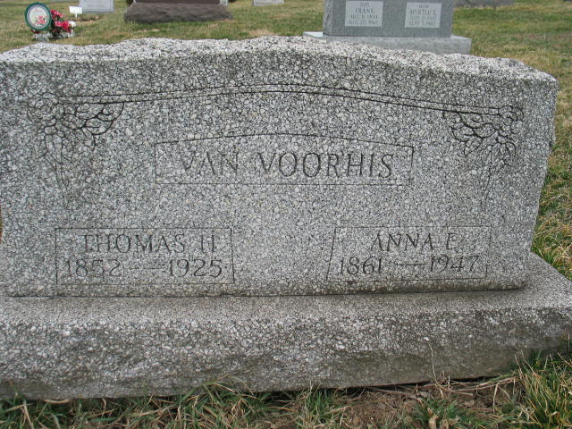 Thomas H. and Anna E. Van Voorhis