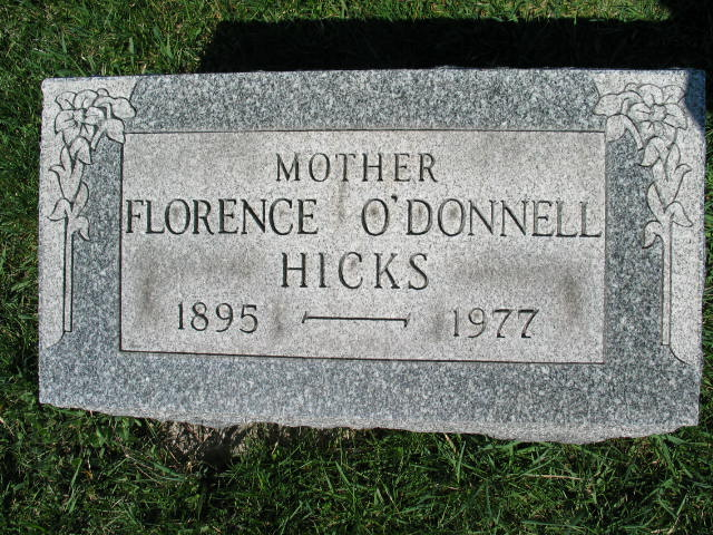 Florence O'Donnell Hicks
