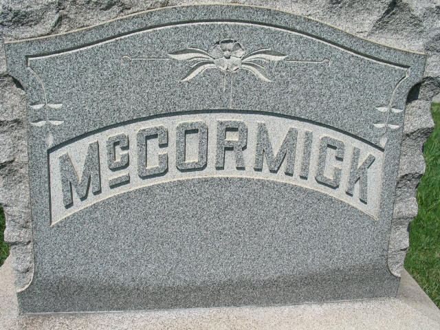 McCormick family monument