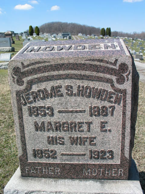 Jerome S. Howden and Margret E. Howden