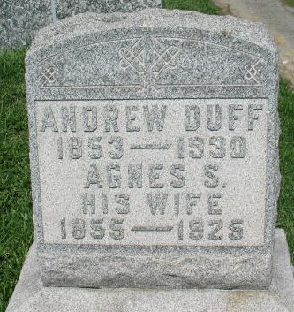Andrew and Agnes S. Duff