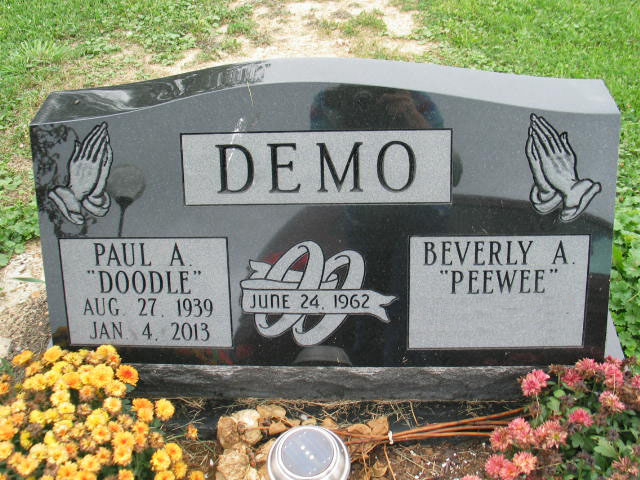 Paul and Beverly Demo